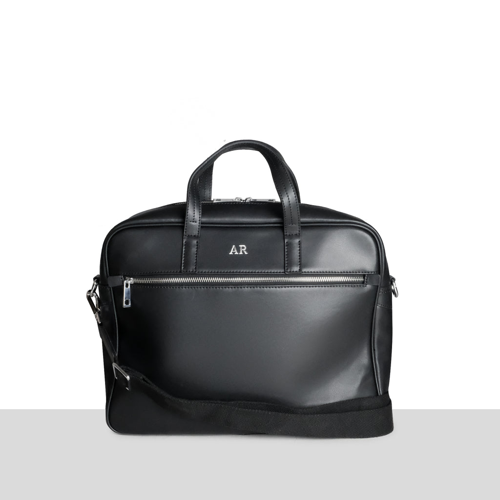 Geneva Briefcase in Black