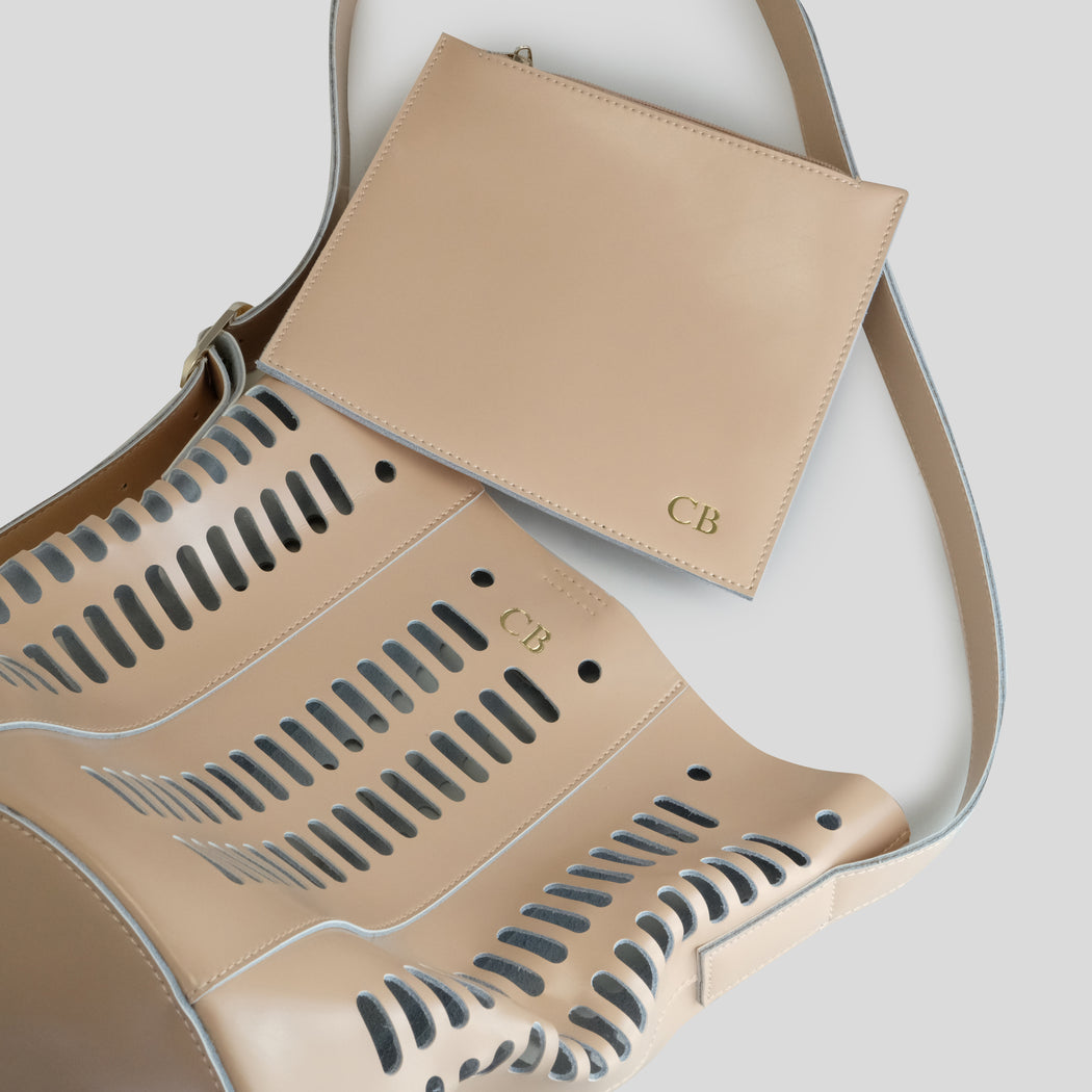 NUDE CUT OUT BAG