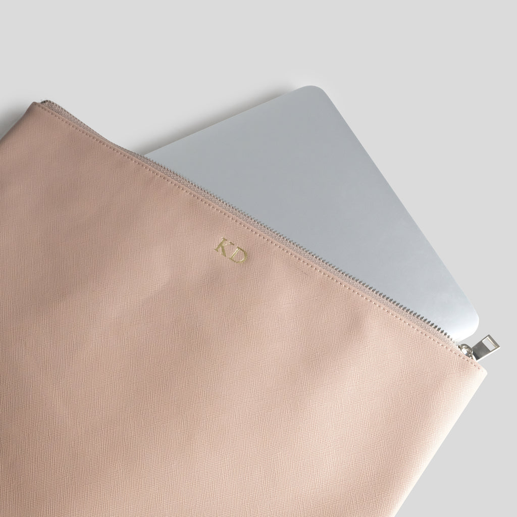 Nude Laptop Pouch
