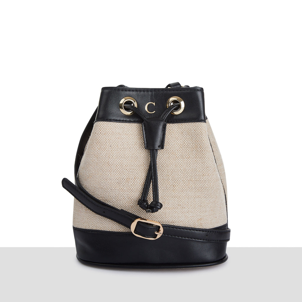 Monte Carlo Bucket Bag in Black