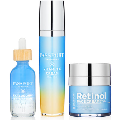 Passport to Anti-Aging Set