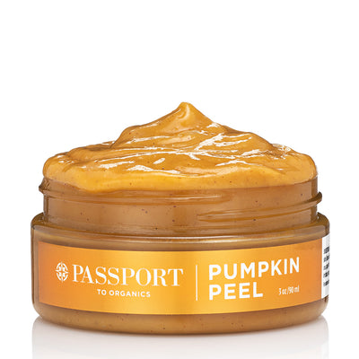 Pumpkin Peel Mask