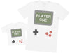 Gamer Player One & Player Two - Mens T Shirt & Kid's T-Shirt
