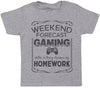 Weekend Forecast Gaming - Kids T-Shirt