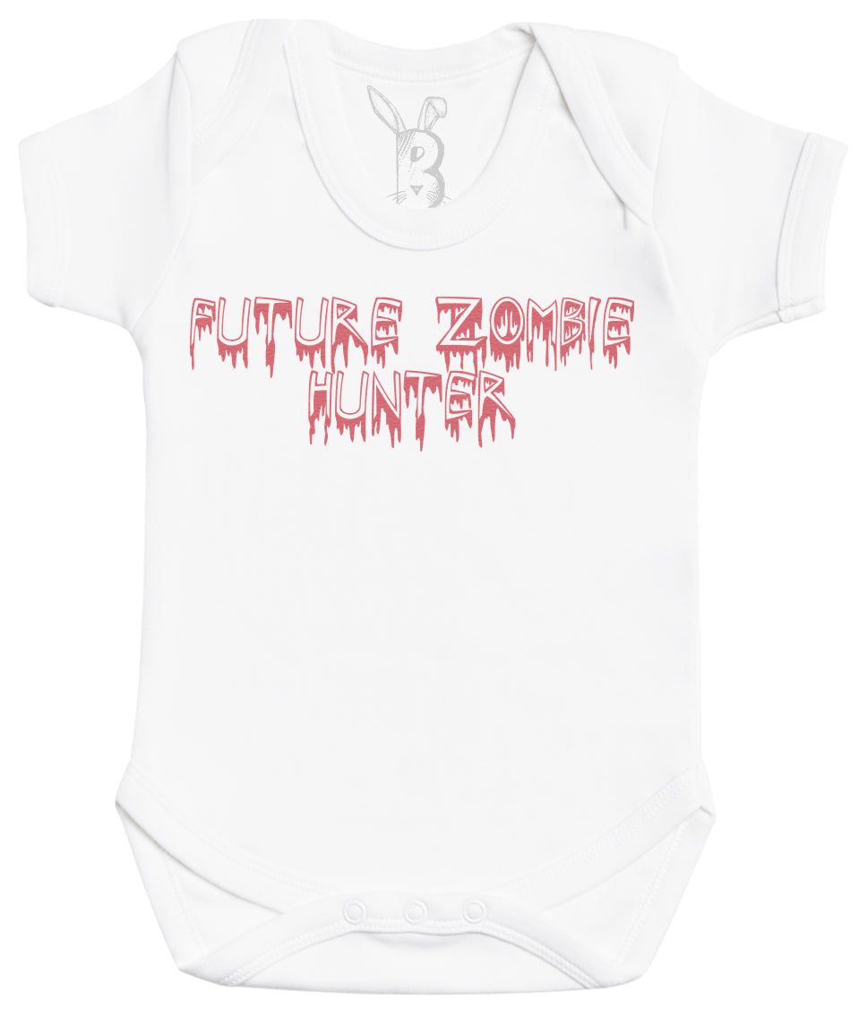 Future Zombie Hunter Baby Bodysuit