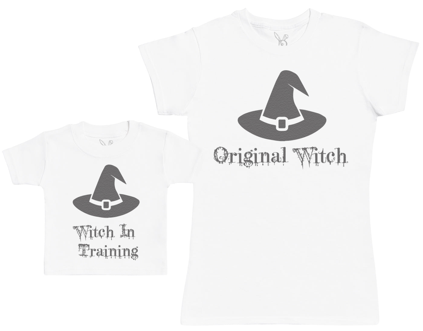 Witch In Training & Original Witch - Baby T-Shirt & Mother's T-Shirt