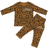 Washington Personalised Double Name Leopard Print Lounge Suit