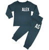Ohio Personalised Name & Initials Lounge Suit - Teal