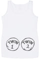 Twin 1 Twin 2 Maternity Vest Top