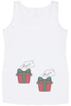 Twin Christmas Presents  Maternity Vest - Christmas Maternity Gift