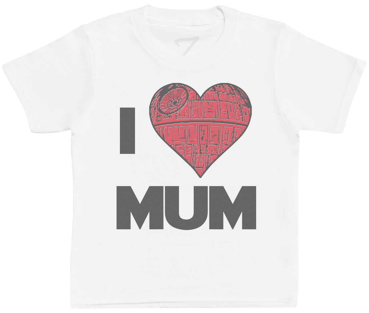 I Love Mum Star Heart- Kids T-Shirt