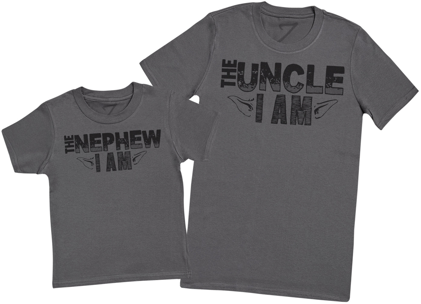 The Nephew I Am, The Uncle I Am - Mens T Shirt & Kid's T - Shirt