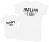 The Baby, I Am - Baby Bodysuit & Mother's T-Shirt
