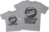 Trooper Junior & Trooper Senior - Mens T Shirt & Kid's T-Shirt