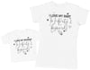 I Love My Mummy & Baby To Infinity & Beyond - Baby T-Shirt & Mother's T-Shirt