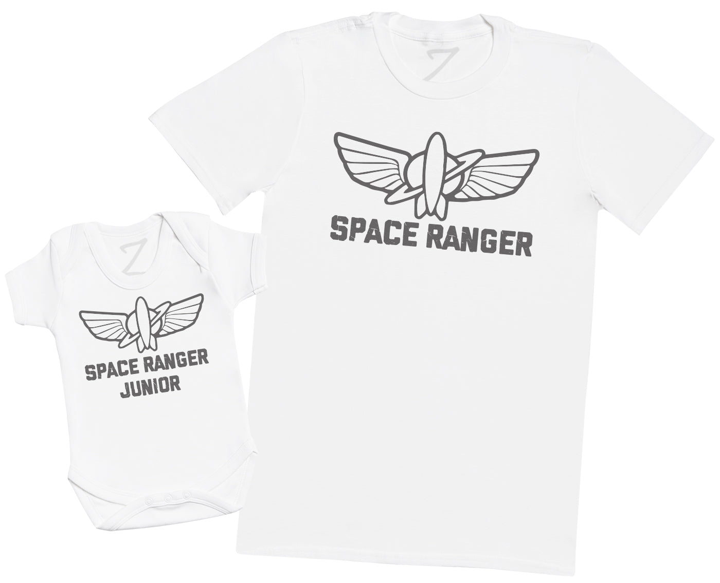 Space Ranger Junior - Mens T Shirt & Baby Bodysuit