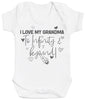 I Love My Grandma To Infinity & Beyond - Baby Bodysuit