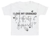 I Love My Grandad To Infinity & Beyond - Baby T-Shirt