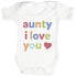 Aunty, I Love You Baby Bodysuit / Babygrow