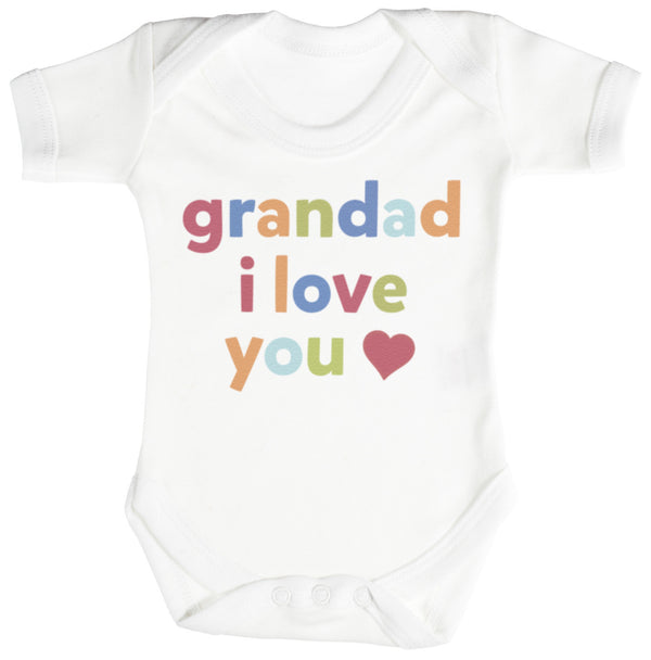 Grandad, I Love You Baby Bodysuit / Babygrow