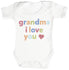 Grandma, I Love You Baby Bodysuit / Babygrow