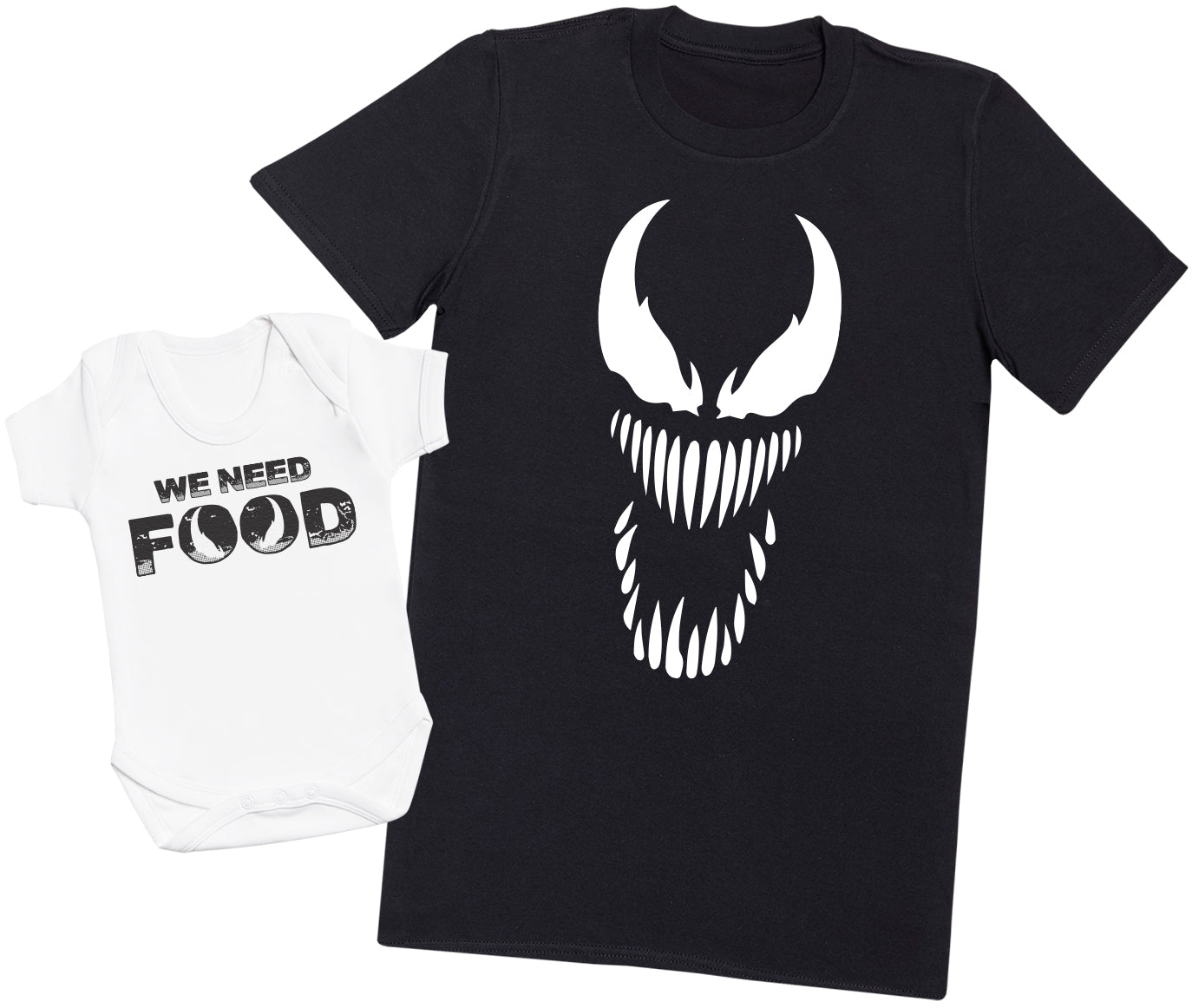 We Need FOOD - Mens T Shirt & Baby Bodysuit