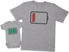 Low And Full Battery - Mens T Shirt & Baby Bodysuit