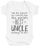 I'm As Lucky As Can Be Best Uncle belongs to me! Baby Bodysuit