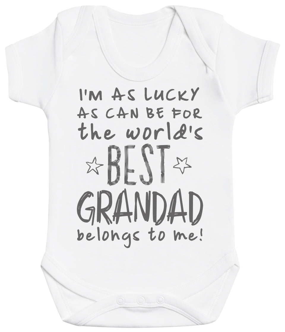 I'm As Lucky As Can Be Best Grandad belongs to me! Baby Bodysuit
