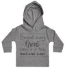 Behind Every Great Baby Is A Truly Amazing Aunt Baby Hoody