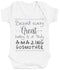 Behind Every Great Baby Is A Truly Amazing GodMother Baby Bodysuit