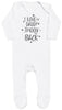 I Love My Daddy To The Moon And Back Baby Romper