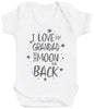 I Love My Grandad To The Moon And Back Baby Bodysuit
