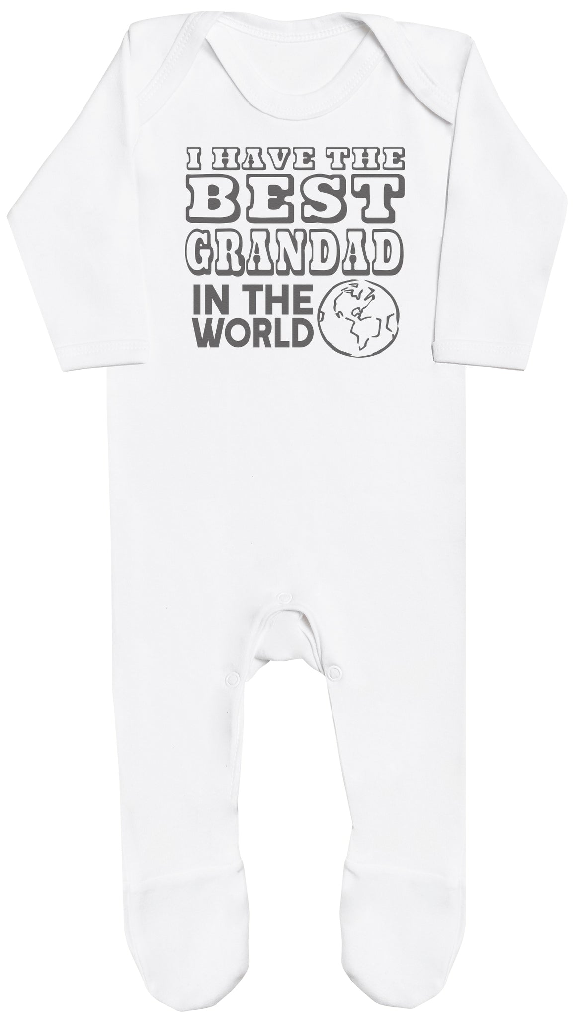 I Have The Best Grandad In The World Baby Romper