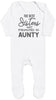 The Best Sisters Get Promoted To Aunty Baby Romper