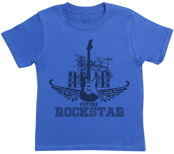 Future Rockstar Kids T-Shirt - Kids Top - Boys T-Shirt - Girls T-Shirt