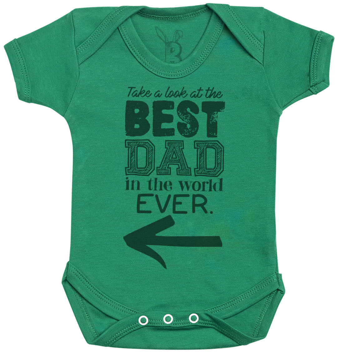 Best Dad Ever In The World Baby Bodysuit - Baby Gift