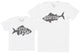 Little Fish - Kid's Gift Set with Kid's T-Shirt & Father's T-Shirt