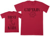 First Mate - Kid's Gift Set with Kid's T-Shirt & Father's T-Shirt