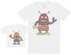Robots - Baby Gift Set with Baby T-Shirt & Father's T-Shirt