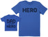 MY Dad Is My Hero - Baby Gift Set with Baby T-Shirt & Father's T-Shirt