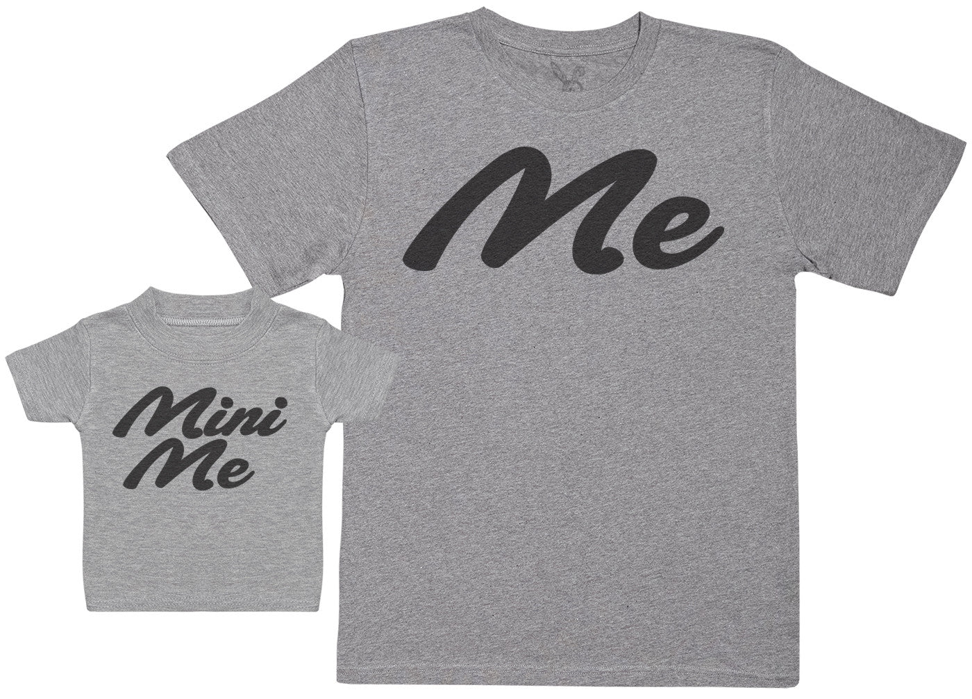 Me & Mini Me - Baby Gift Set with Baby T-Shirt & Father's T-Shirt