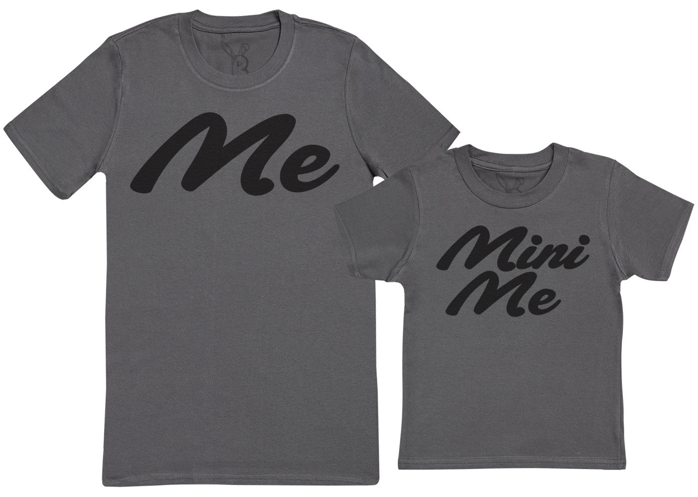 Me & Mini Me - Kid's Gift Set with Kid's T-Shirt & Father's T-Shirt