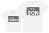 Half Pint - Kid's Gift Set with Kid's T-Shirt & Father's T-Shirt