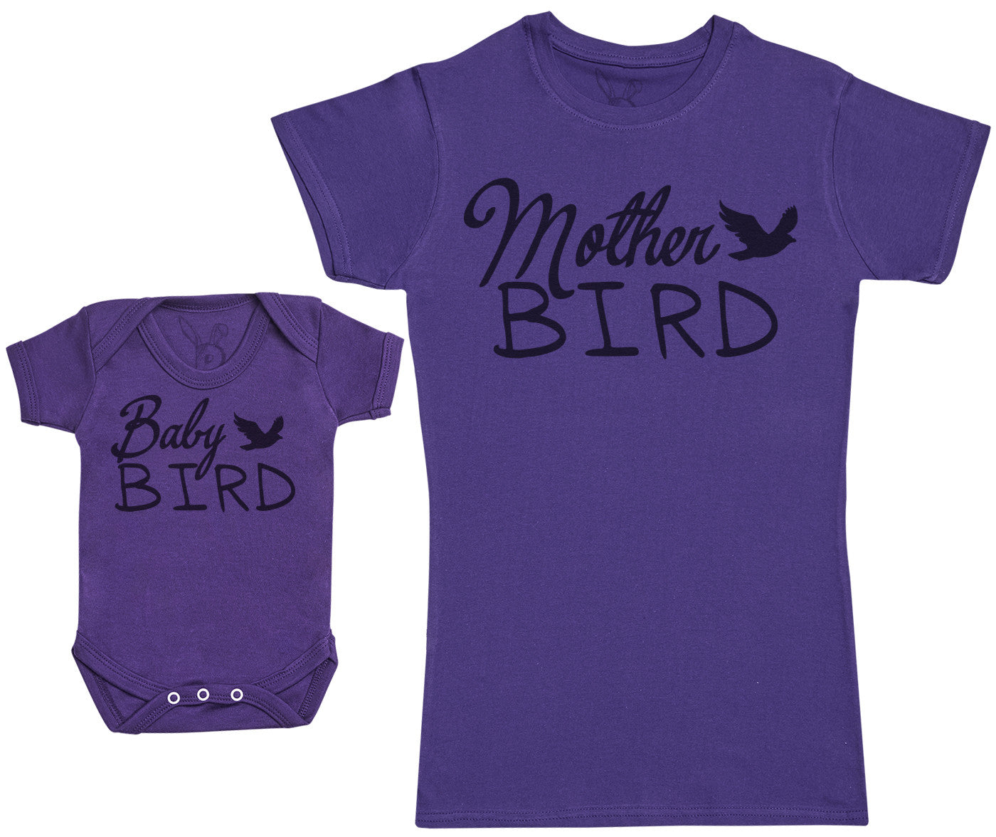Baby Bird - Baby Gift Set with Baby Bodysuit & Mother's T-Shirt