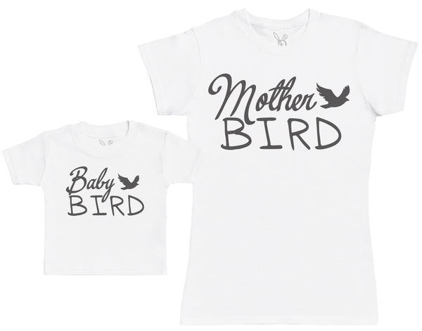 Baby Bird - Baby Gift Set with Baby T-Shirt & Mother's T-Shirt