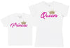 Princess & Queen - Kid's Gift Set with Kid's T-Shirt & Mother's T-Shirt