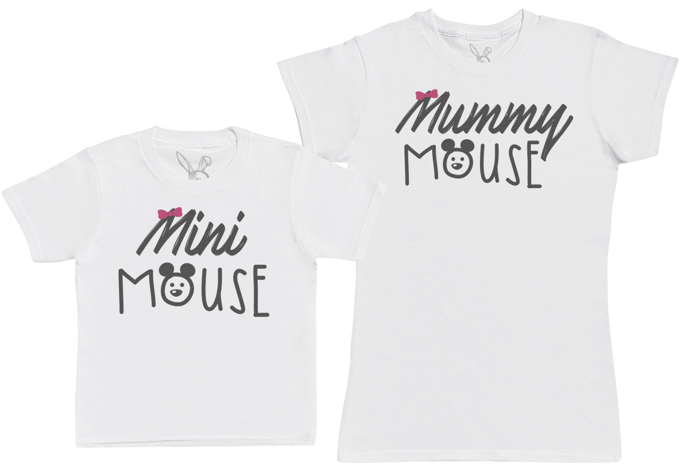 Mini Mouse - Kid's Gift Set with Kid's T-Shirt & Mother's T-Shirt