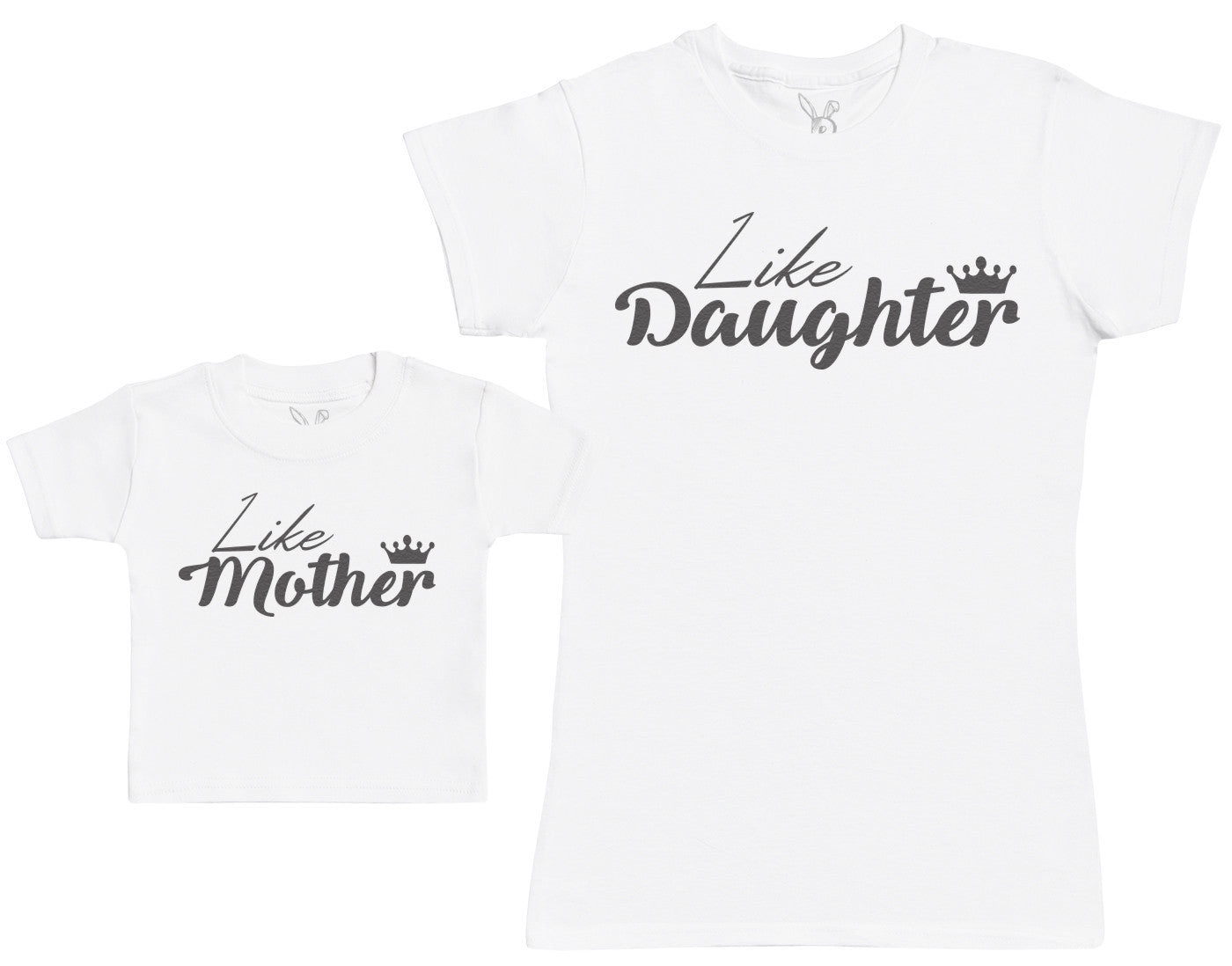 Like Daughter, Like Mother - Baby Gift Set with Baby T-Shirt & Mother's T-Shirt