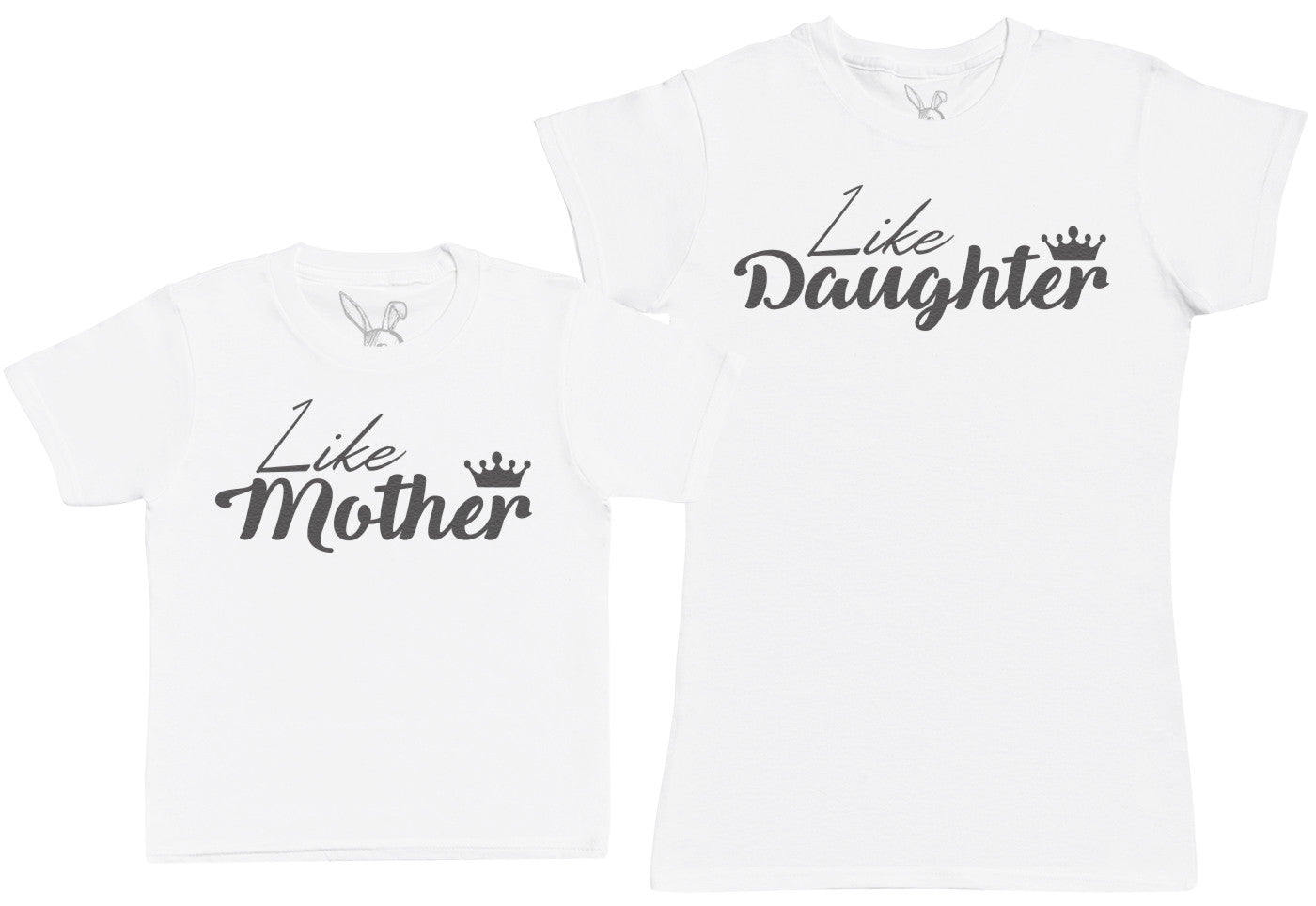 Like Daughter, Like Mother - Kid's Gift Set with Kid's T-Shirt & Mother's T-Shirt